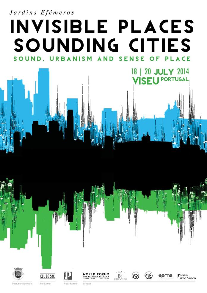 Invisible Places- Sounding Cities - Cartaz