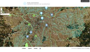 """Mapeamento colaborativo """"Rios de São Paulo"""", do Coletivo Escafandro"""