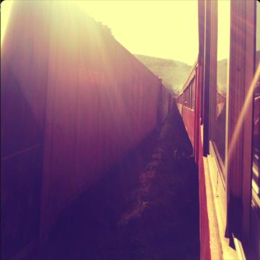 Trem da Serra do Mar, em algum lugar Paraná