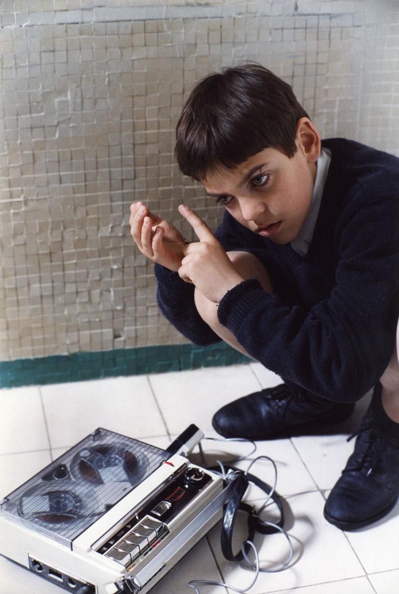 """Uma das influências para criar o Soundgramr: o filme """"Vermelho como o céu"""" (Itália, 2006, Dir.: Cristiano Bortone)"""