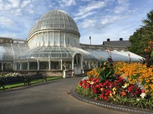 Casa da Palmeira vitoriana do Botanic Gardens