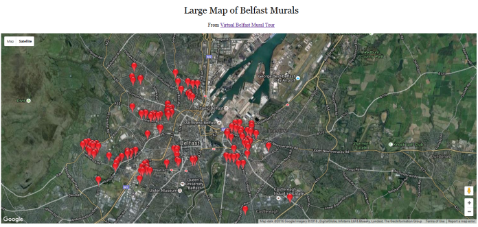 Virtual Belfast Mural Tour