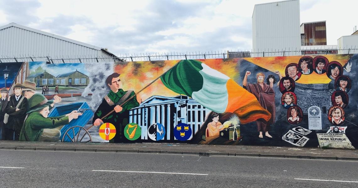 Mural Irlandês