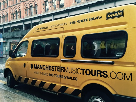 Van do Manchester Music Tours