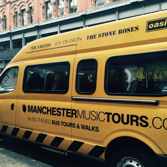 Van do Manchester Music Tours