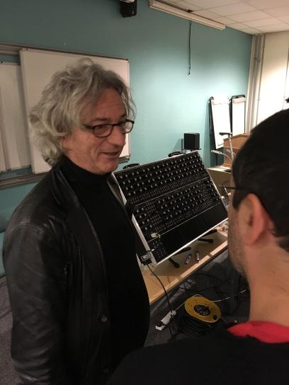 Rob Hordijk e o sintetizador que fez
