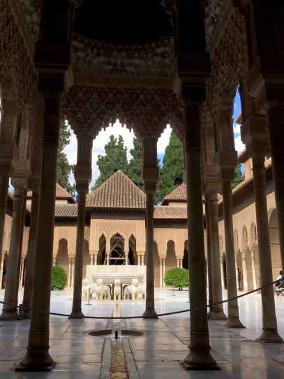 Pátio em Alhambra